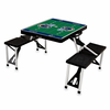 Picnic Time NFL - Black Picnic Table Sport St. Louis Rams