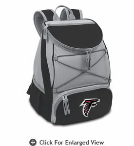 Picnic Time NFL - Black PTX Backpack Cooler Atlanta Falcons