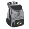 Picnic Time NFL - Black PTX Backpack Cooler Green Bay Packers