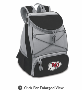 Picnic Time NFL - Black PTX Backpack Cooler Kansas City Chiefs