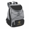 Picnic Time NFL - Black PTX Backpack Cooler New Orleans Saints
