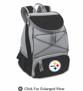 Picnic Time NFL - Black PTX Backpack Cooler Pittsburgh Steelers