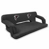 Picnic Time NFL - Black Reflex Travel Couch Atlanta Falcons