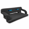 Picnic Time NFL - Black Reflex Travel Couch Carolina Panthers