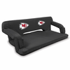 Picnic Time NFL - Black Reflex Travel Couch Kansas City Chiefs