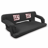 Picnic Time NFL - Black Reflex Travel Couch New York Giants