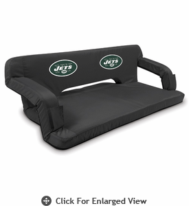 Picnic Time NFL - Black Reflex Travel Couch New York Jets