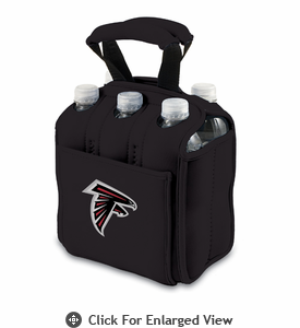Picnic Time NFL - Black Six Pack Atlanta Falcons