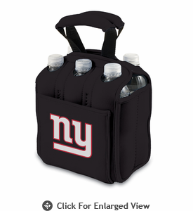 Picnic Time NFL - Black Six Pack New York Giants