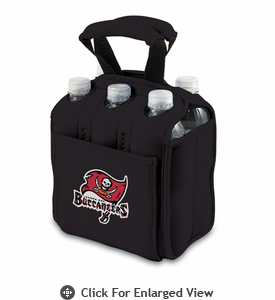 Picnic Time NFL - Black Six Pack Tampa Bay Buccaneers