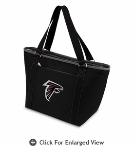 Picnic Time NFL - Black Topanga Cooler Tote Atlanta Falcons