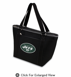 Picnic Time NFL - Black Topanga Cooler Tote New York Jets