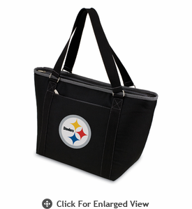Picnic Time NFL - Black Topanga Cooler Tote Pittsburgh Steelers