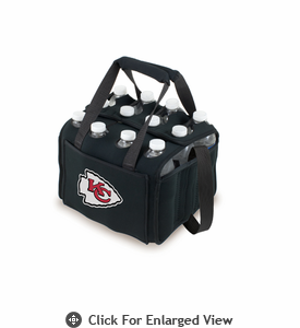 Picnic Time NFL - Black Twelve Pack Kansas City Chiefs