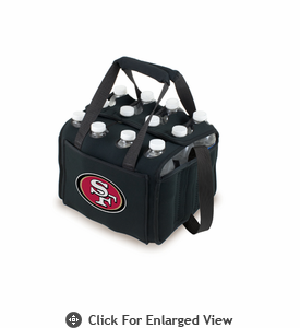 Picnic Time NFL - Black Twelve Pack San Francisco 49ers