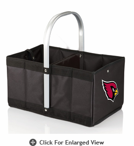 Picnic Time NFL - Black Urban Basket Arizona Cardinals