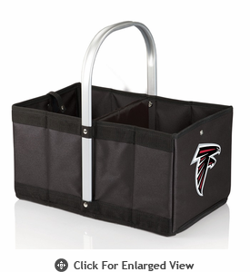 Picnic Time NFL - Black Urban Basket Atlanta Falcons