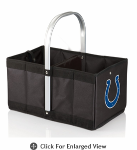 Picnic Time NFL - Black Urban Basket Indianapolis Colts