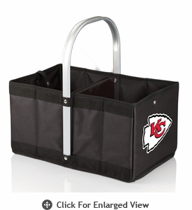 Picnic Time NFL - Black Urban Basket Kansas City Chiefs