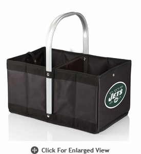 Picnic Time NFL - Black Urban Basket New York Jets