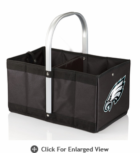 Picnic Time NFL - Black Urban Basket Philadelphia Eagles