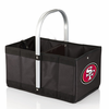 Picnic Time NFL - Black Urban Basket San Francisco 49ers