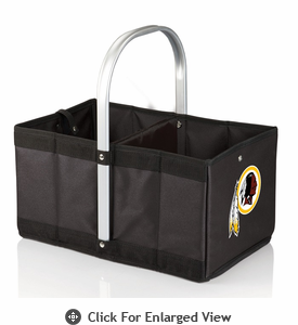 Picnic Time NFL - Black Urban Basket Washington Redskins