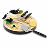 Picnic Time NFL - Black Ventana Cheese Board Oakland Raiders