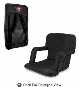 Picnic Time NFL - Black Ventura San Francisco 49ers