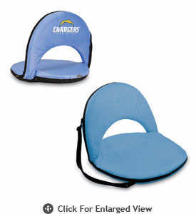 Picnic Time NFL - Blue Oniva Seat San Diego Chargers