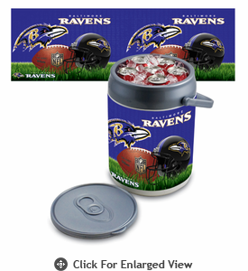 Picnic Time NFL - Can Cooler Baltimore Ravens