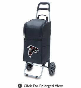 Picnic Time NFL - Cart Cooler Black Atlanta Falcons