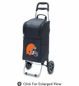 Picnic Time NFL - Cart Cooler Black Cleveland Browns