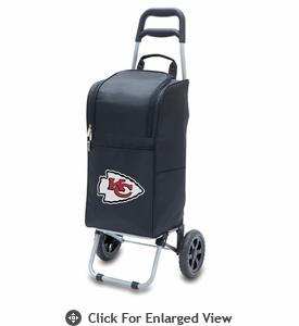 Picnic Time NFL - Cart Cooler Black Kansas City Chiefs