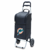 Picnic Time NFL - Cart Cooler Black Miami Dolphins