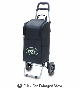 Picnic Time NFL - Cart Cooler Black New York Jets