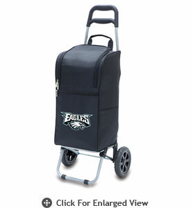 Picnic Time NFL - Cart Cooler Black Philadelphia Eagles