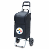 Picnic Time NFL - Cart Cooler Black Pittsburgh Steelers
