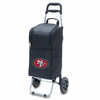 Picnic Time NFL - Cart Cooler Black San Francisco 49ers