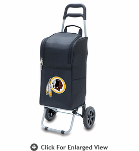 Picnic Time NFL - Cart Cooler Black Washington Redskins
