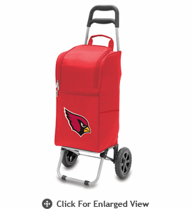 Picnic Time NFL - Cart Cooler Red Arizona Cardinals