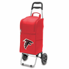 Picnic Time NFL - Cart Cooler Red Atlanta Falcons