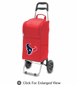 Picnic Time NFL - Cart Cooler Red Houston Texans