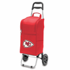Picnic Time NFL - Cart Cooler Red Kansas City Chiefs