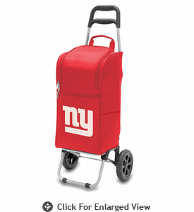 Picnic Time NFL - Cart Cooler Red New York Giants