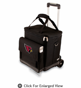 Picnic Time NFL - Cellar w/Trolley Arizona Cardinals