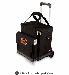 Picnic Time NFL - Cellar w/Trolley Cincinnati Bengals
