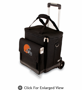 Picnic Time NFL - Cellar w/Trolley Cleveland Browns