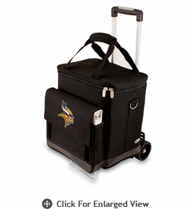 Picnic Time NFL - Cellar w/Trolley Minnesota Vikings