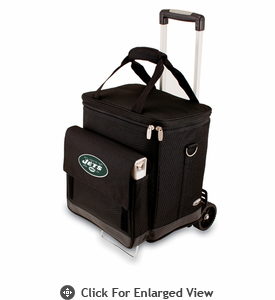 Picnic Time NFL - Cellar w/Trolley New York Jets